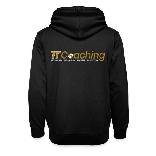 TT Coaching Schriftfarbe Gold / Weiss - Unisex Schalkragen Hoodie