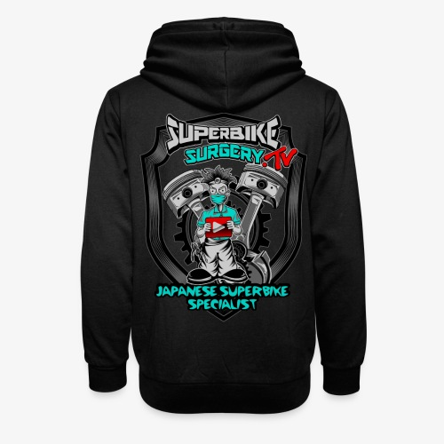 Superbike Surgery TV - Shawl Collar Hoodie