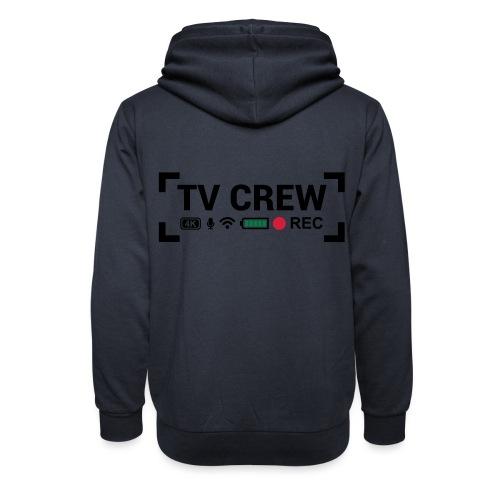 TV Crew - Felpa con colletto alto