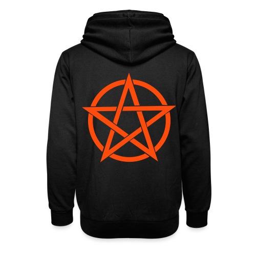 Pentagramme Wicca - Sweat à capuche cache-cou