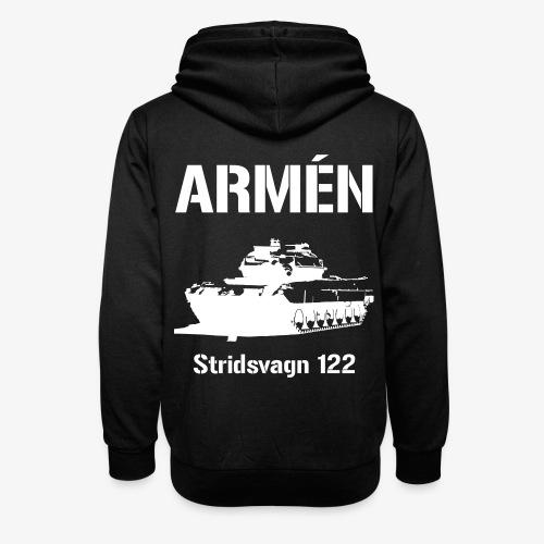 ARMÉN - Stridsvagn 122 - Luvtröja med sjalkrage unisex