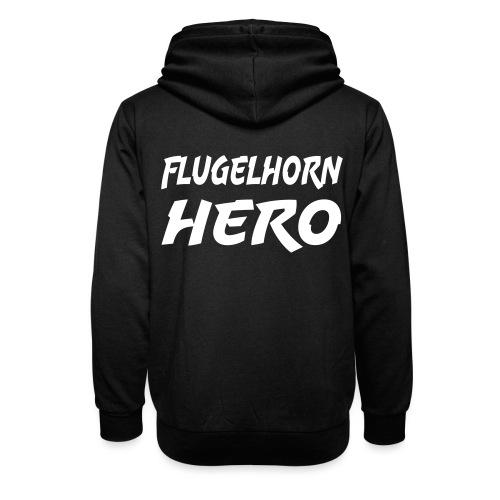Flugelhorn Hero - Unisex hettegenser med sjalkrage