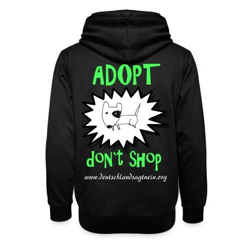Adopt don`t shop - Schalkragen Hoodie