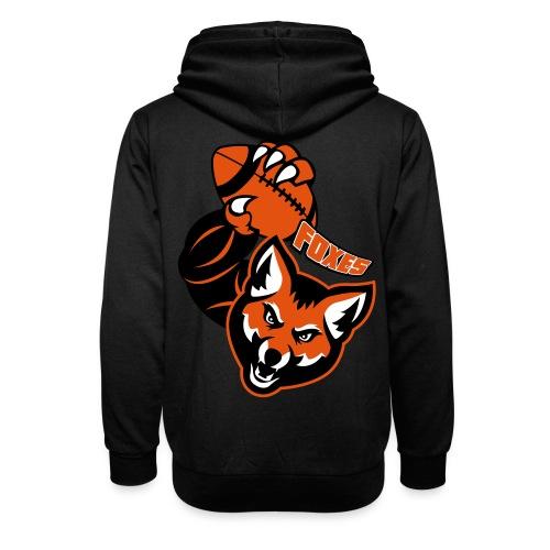 Foxes Rugby - Sweat à capuche cache-cou