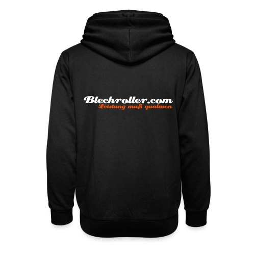 blechroller logo - Unisex Schalkragen Hoodie