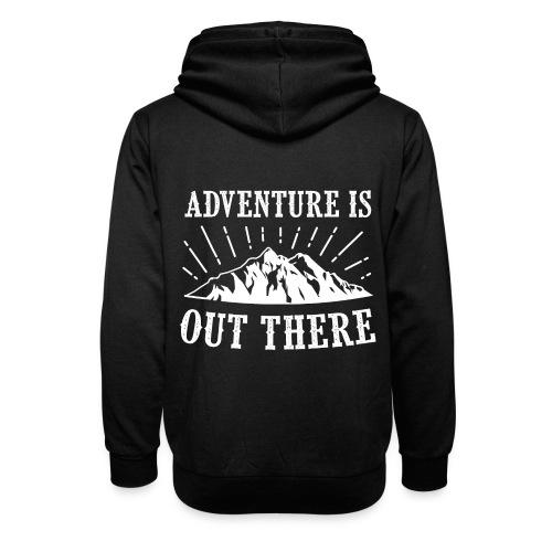 adventure - Bluza z szalowym kołnierzem unisex