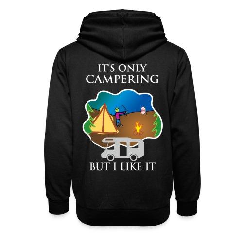 To tylko campering, ale to lubię - Bluza z szalowym kołnierzem