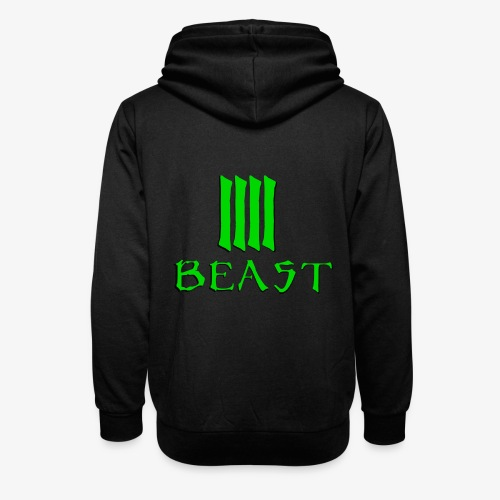 Beast Green - Unisex Shawl Collar Hoodie
