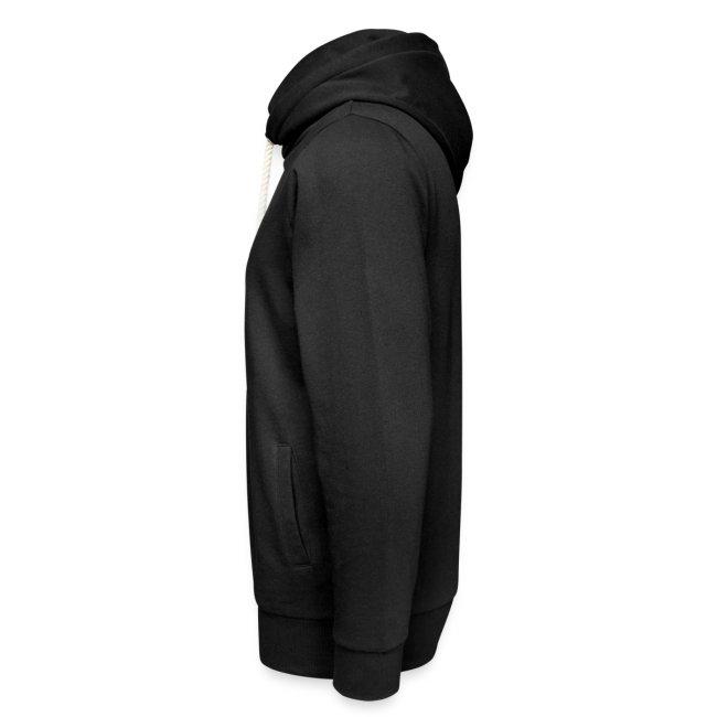 Vorschau: Rudelführerin - Unisex Schalkragen Hoodie