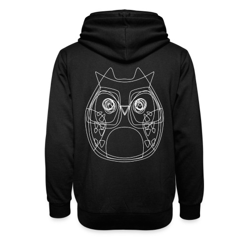 Owls - Unisex Schalkragen Hoodie