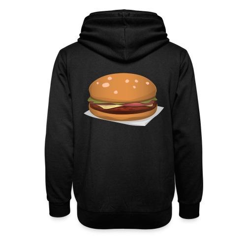 hamburger-576419 - Felpa con colletto alto