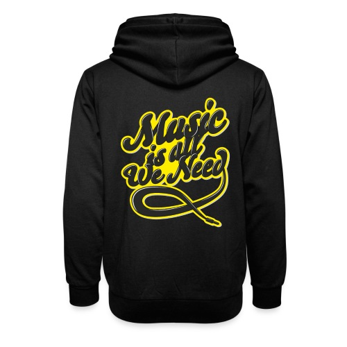 Music Is All We Need - Shawl Collar Hoodie