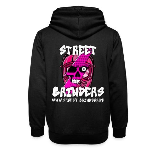 Street Grinders Merch Pink - Schalkragen Hoodie