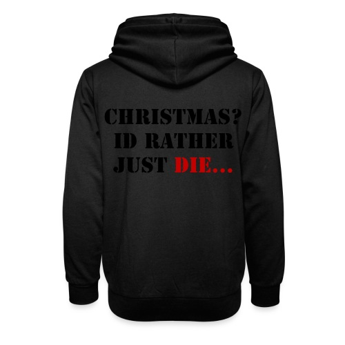 Christmas joy - Unisex Shawl Collar Hoodie