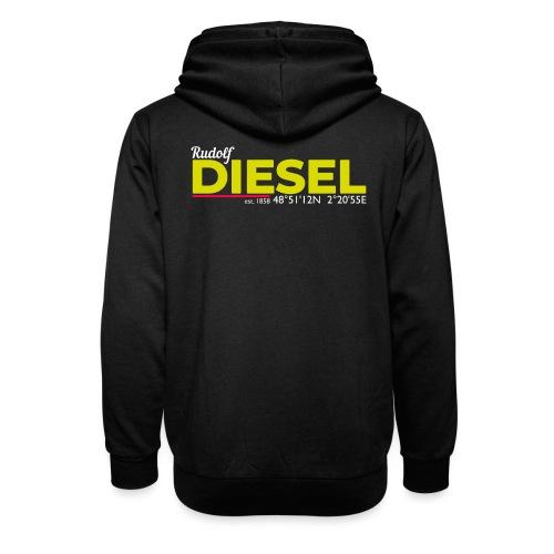 Rudolf Diesel geboren in Paris I Dieselholics - Unisex Schalkragen Hoodie
