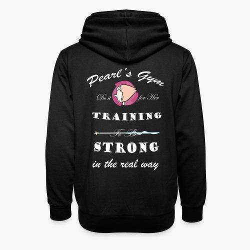 Strong in the Real Way - Felpa con colletto alto unisex