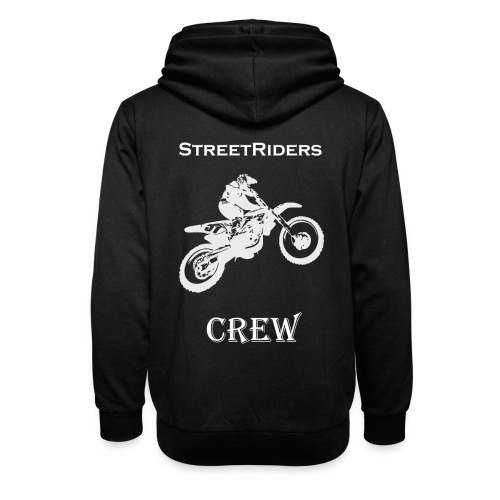 StreetRiders Hoodie - Felpa con colletto alto unisex