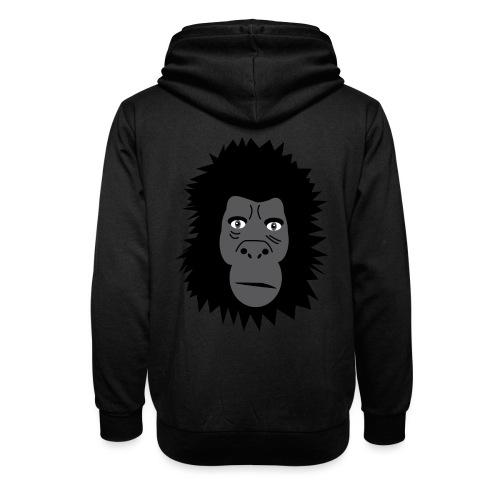 Gorilla - Unisex Schalkragen Hoodie