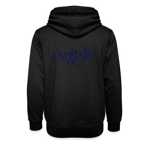 /'angstalt/ logo - Unisex Schalkragen Hoodie