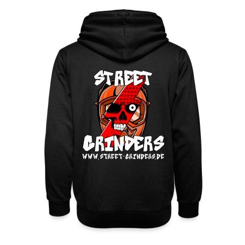 Street Grinders Merch Rot - Schalkragen Hoodie