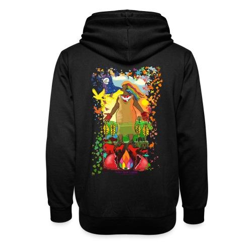 Mother Earth Creating - Unisex sjaalkraag hoodie