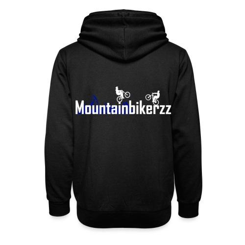 Mountainbikerzz - Unisex Schalkragen Hoodie