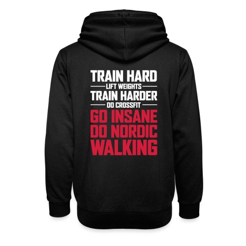 Nordic Walking - Go Insane - Huivikaulus huppari