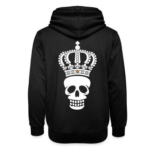 'Custom Dutch' Crowned Skull - Sjaalkraag hoodie
