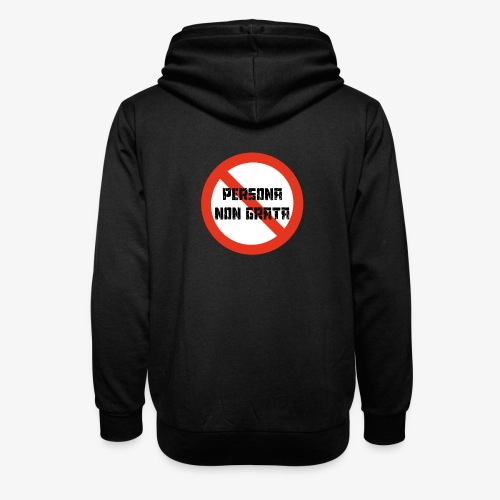 Persona non grata - Sjaalkraag hoodie