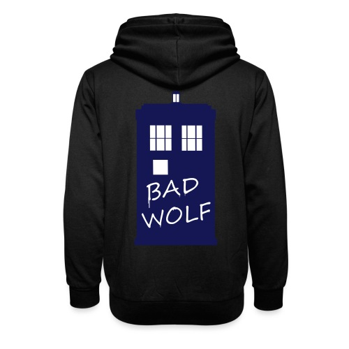 Bad Wolf Tardis - Sweat à capuche cache-cou