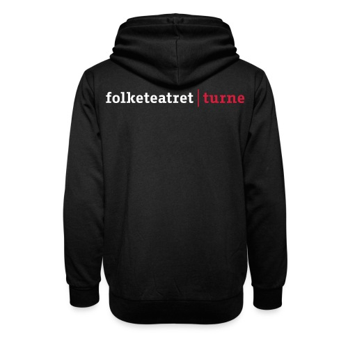Philip Raistrick Folketeatret turne NY 2011 DK - Unisex hoodie med sjalskrave