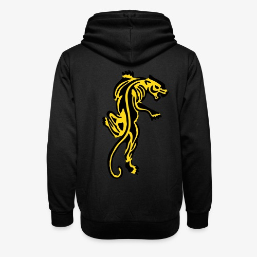 Tiger great cat design by patjila - Shawl Collar Hoodie