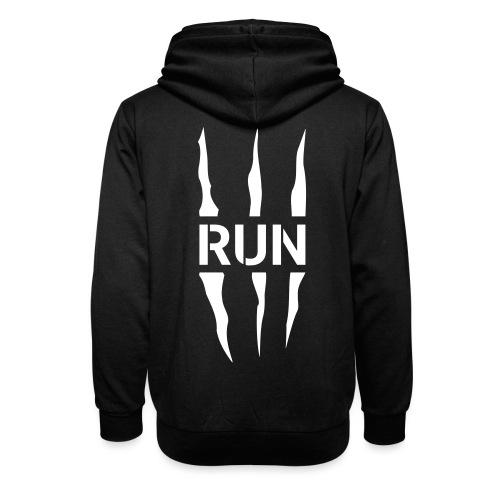 Run Scratch - Sweat à capuche cache-cou