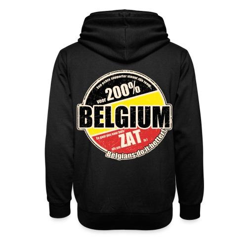 Belgium Vintage - Sjaalkraag hoodie
