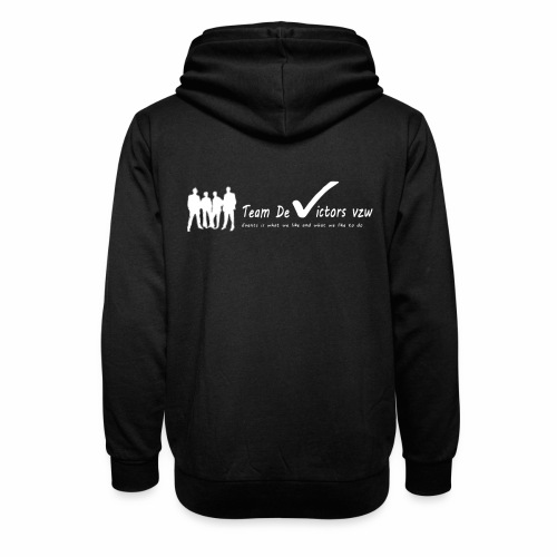 TDV - Unisex sjaalkraag hoodie