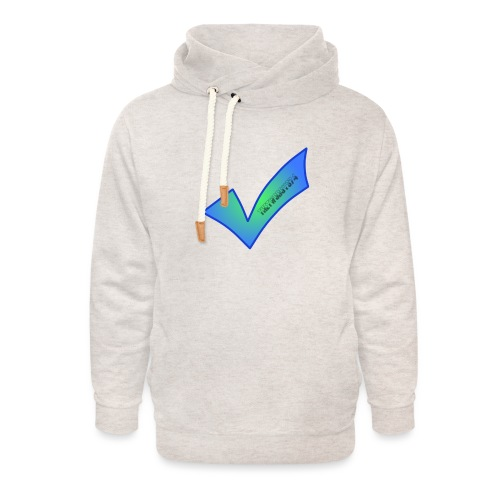 Thetwoboys_Designs - Unisex hoodie med sjalskrave