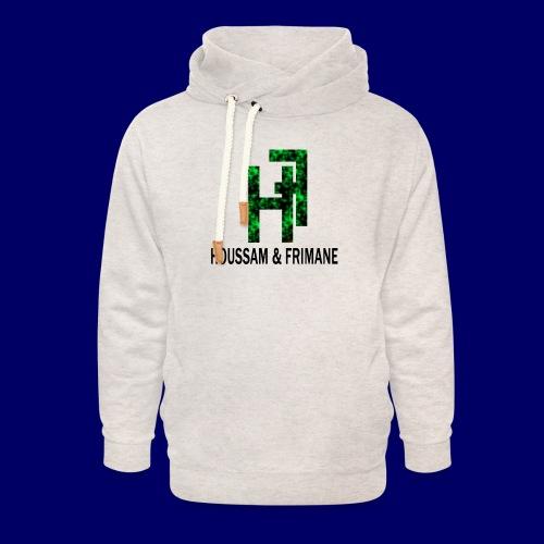 h&f - Felpa con colletto alto unisex