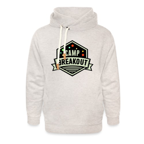 Camp Breakout Logo 2018 - Unisex Schalkragen Hoodie