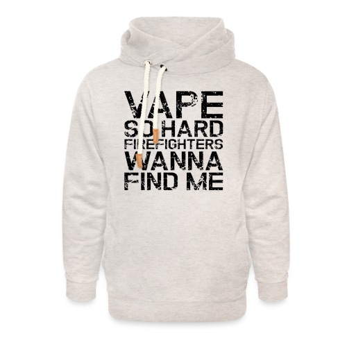 Vape so hard - Unisex Shawl Collar Hoodie