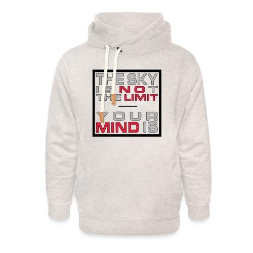 No Limit Mind - Unisex Schalkragen Hoodie