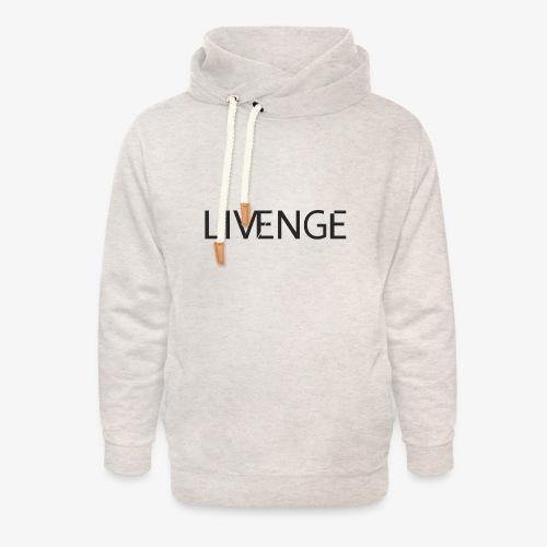 Livenge - Unisex sjaalkraag hoodie