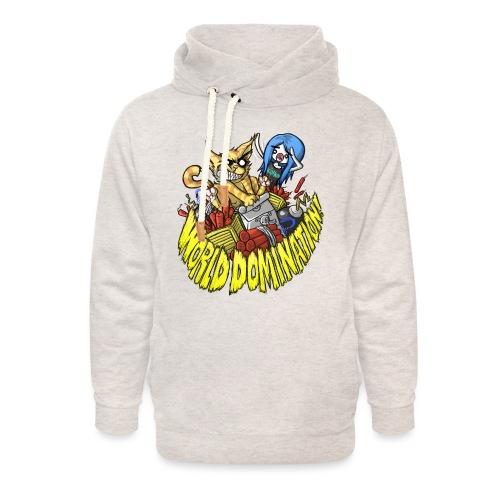 WORLD DOMINATION - Unisex Shawl Collar Hoodie