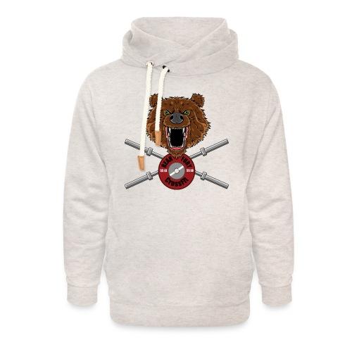 Bear Fury Crossfit - Sweat à capuche cache-cou unisexe