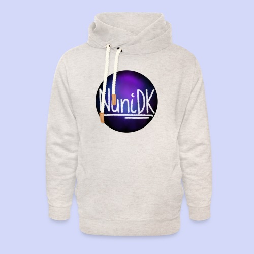 Galaxy shade, NuniDK collection - female top - Unisex hoodie med sjalskrave