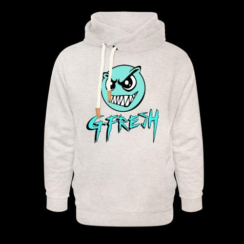 G-Fresh logo - Unisex sjaalkraag hoodie