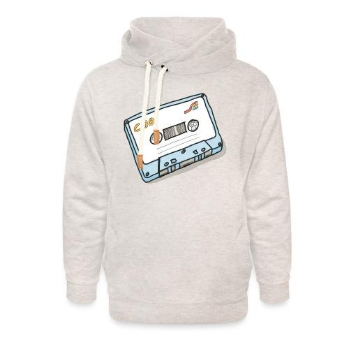 Cassette - Unisex Schalkragen Hoodie