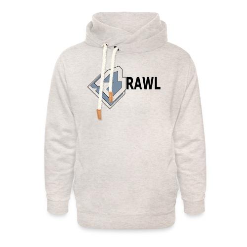 PANDA ONLY LOGO - Unisex sjaalkraag hoodie