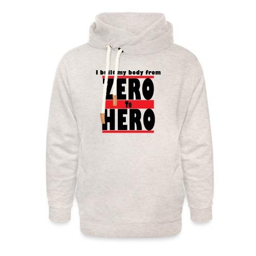 Zero To Hero - Unisex huivikaulus huppari