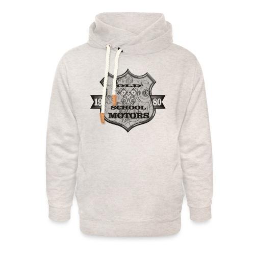 Old School Motors - Unisex Schalkragen Hoodie