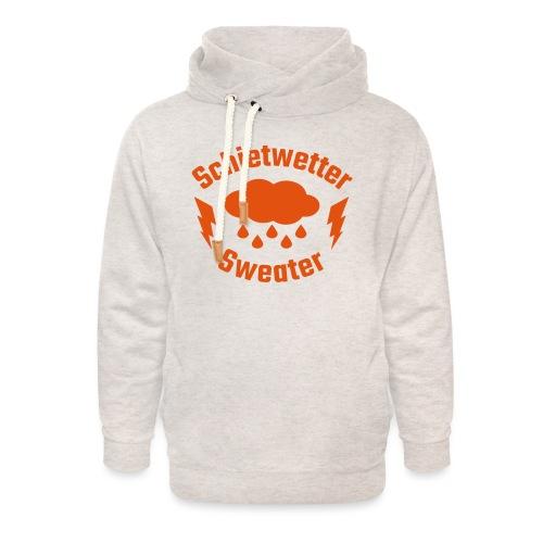 Schietwetter Sweater - Unisex Schalkragen Hoodie